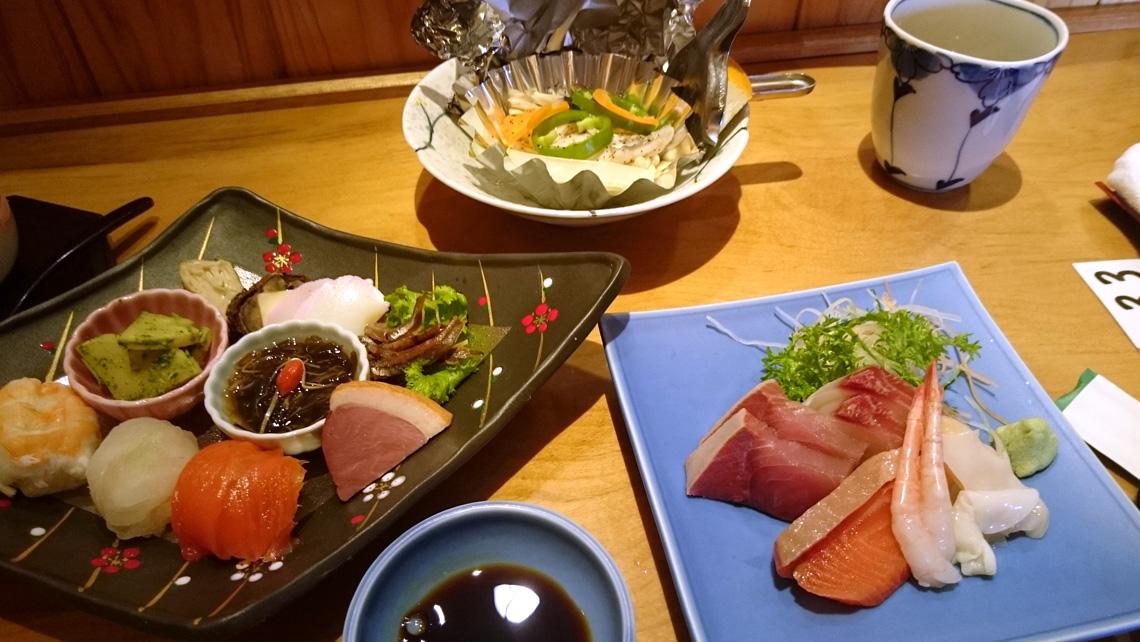 寿司正3月の御馳走写真