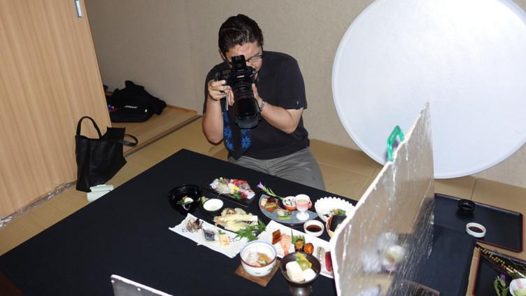 寿司正様料理写真撮影