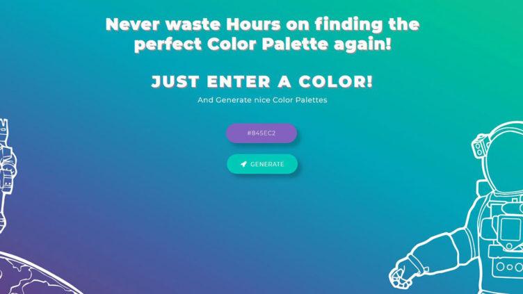 カラー・グラデーション配色ツール